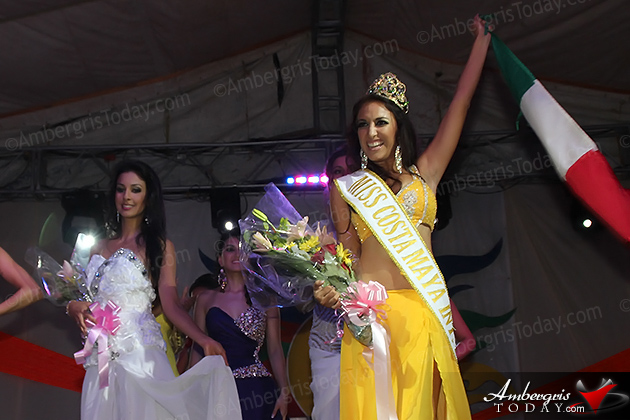 Miss Mexico Does it Again at Costa Maya Pageant