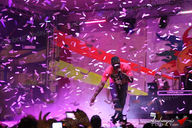 Soca Star Kevin Lyttle performed for Costa Maya Festival on August 2, 2012