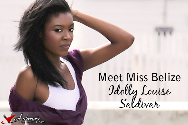 Idolly Saldivar Miss Belize contestant for Costa Maya Pageant 2011
