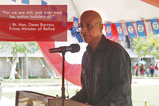 Prime Minister Barrow's Address as Belize Turns 35, Independence Day
