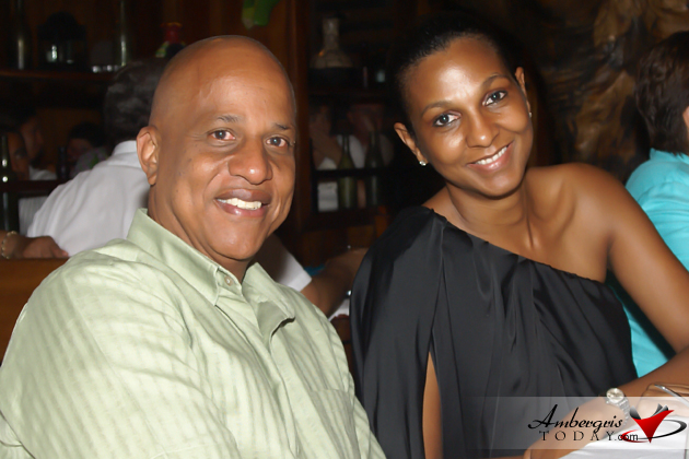 Prime Minister of Belize Dean Barrow and wife Kim Simplis Barrow