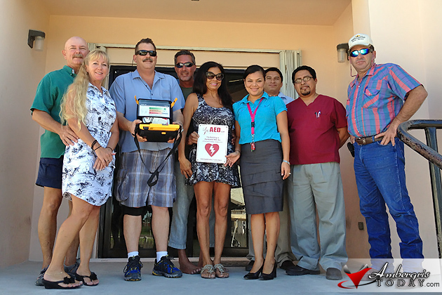 Mobile Defibrillator Donated to San Pedro Poly Clinic