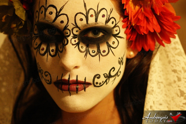 "Dia de los Muertos ""All Souls Day"" -Skull make up"
