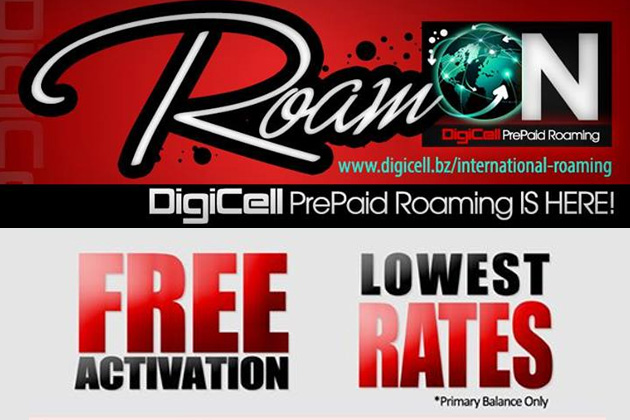 DigiCell Launches PrePaid Voice Roaming Service!