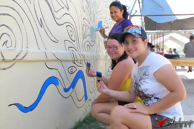 Dorians Angels Isla Bonita Elementary School Mural Painting Fundraiser