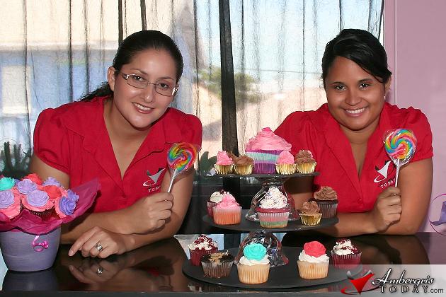 Dorian's Angels went to Cupcake Heaven