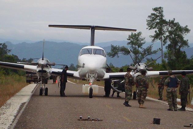 Drug Plane found in Southern Highway, Belize
