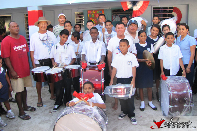 SPRCS Receives New Marching Band Equipment