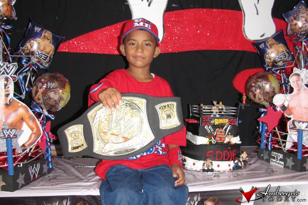 Eddie Palma Wrestling Party