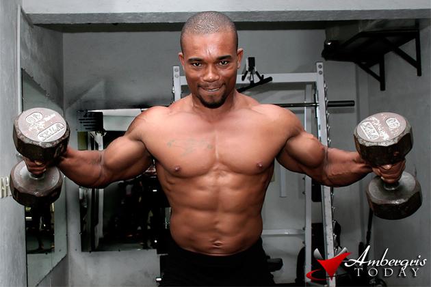 Edwin Ramirez Trains at San Pedro Fitness Club