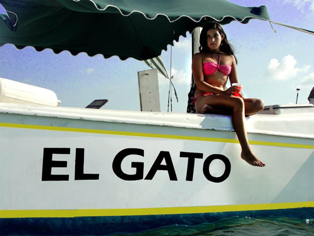 Sailing with El Gato, Ambergris Caye, Belize