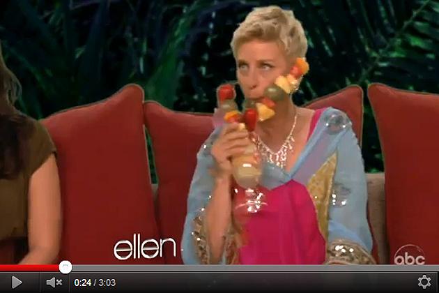 Ellen Parodies The Bachelor in Belize