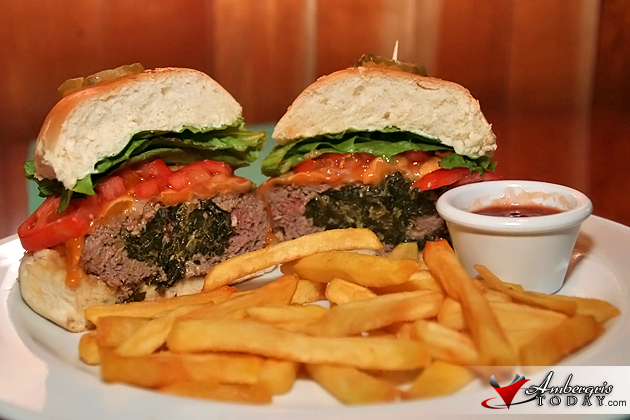 Ambergris Today gets its own burger at Elvi's Kitchen!