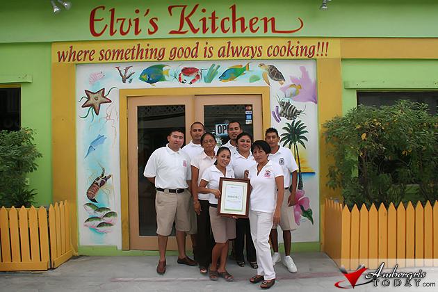 Elvi's Kitchen Staff boast TripAdvisor Certificate of Excellence