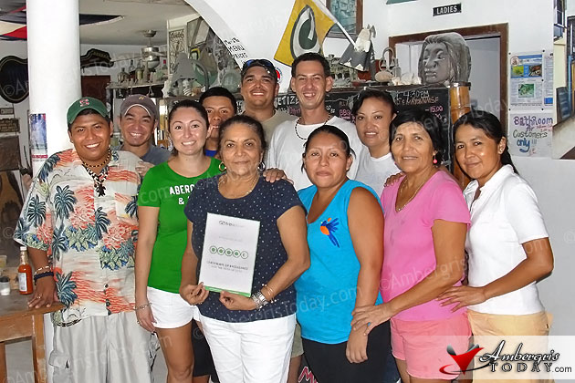 Management and Staff of Estel's Dine by the Sea