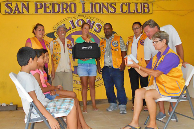 Second Eye Screener Donated to San Pedro Lions by BelizeKids.org