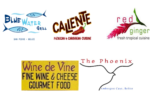 Blue Water Grill, Caliente, Red Ginger, Wine De Vine, The Phoenix Group
