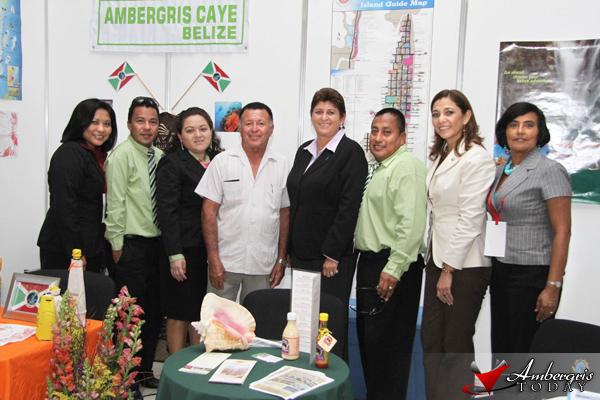 Ambergris Caye represented at Ferprotur in El Salvador