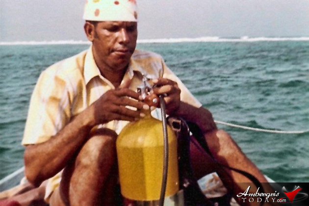 Alan Forman was Scuba Diving Pioneer of San Pedro, Ambergris Caye