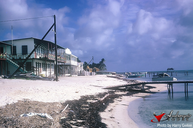 Ambergris Lodge where Mayan Princess is now