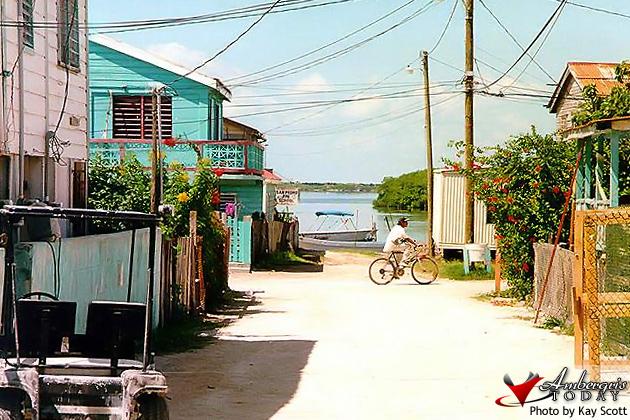 Ambergris Caye Streets -Ambergris Street