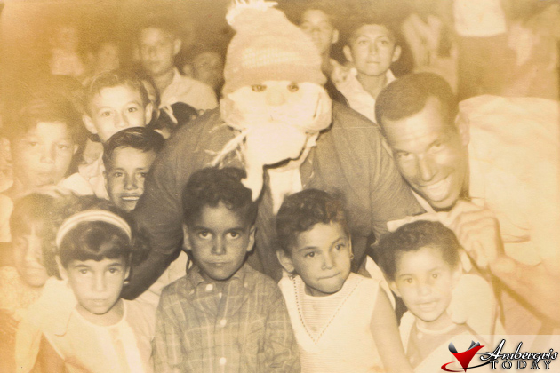 San Pedro Christmas in the 1960's
