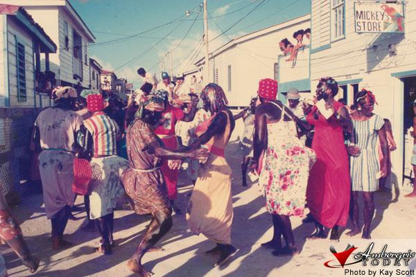 Las Negritas Carnival Comparsa