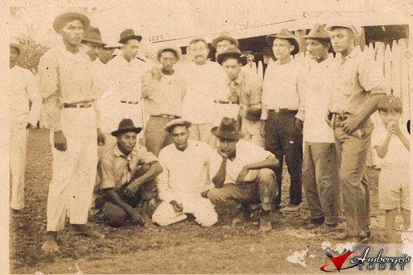 Homecoming - San Pedrano Chicleros in 1925