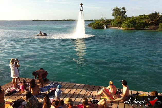 Flyboarding in Belize
