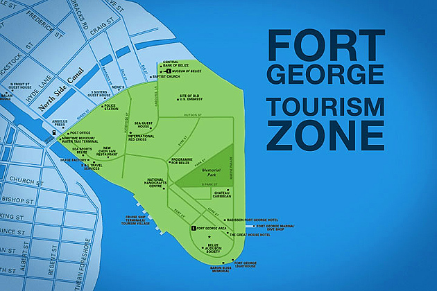 New Fort George Tourism Zone in Belize City officially opens