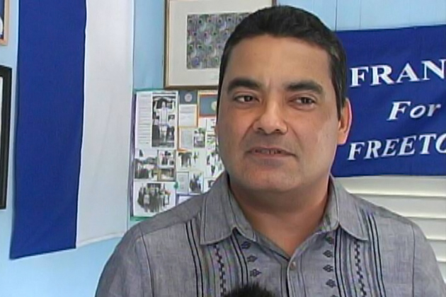 Francis Fonseca New Leader of the PUP