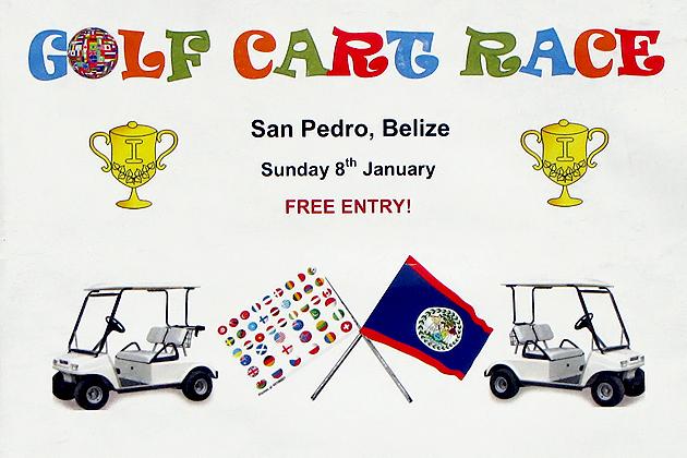 Golf Cart Races in San Pedro?