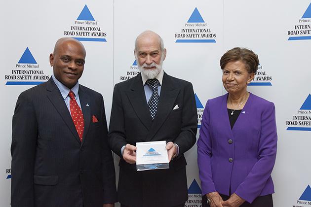 Belize Receives International Road Safety Award for Decreasing Road Deaths
