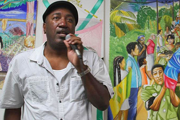 Greg Palacio Exhibits at The Belize Consulate in L.A.