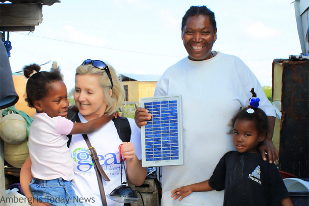 San Mateo resident receives solar light from GridEarth