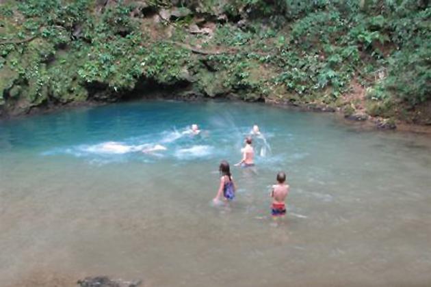 St. Hermans's Blue Hole National Park