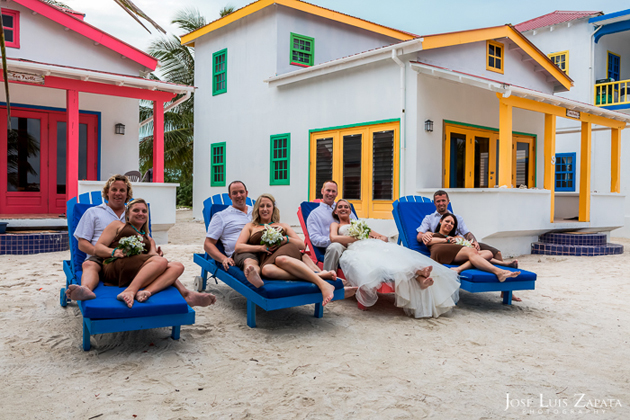 Jason and Morgan Hawks do the Harlem Shake and Destination Wedding in Belize