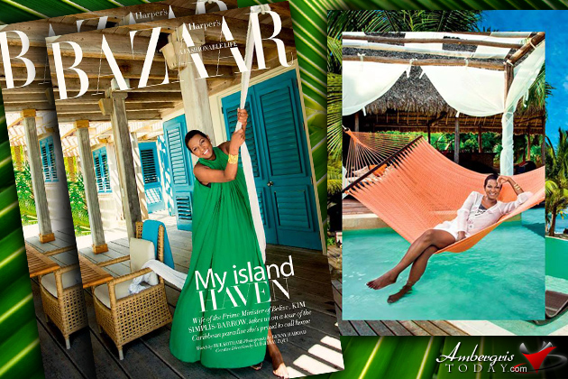First Look At Harper's Bazaar Interiors Full Pictorial on Belize! Kim Simplis