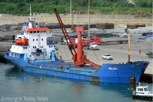Helga- cargo boat