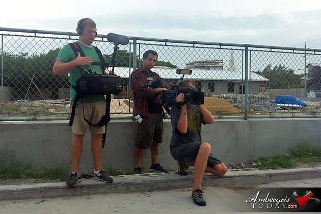 HGTV House Hunters International Filming in San Pedro, Belize
