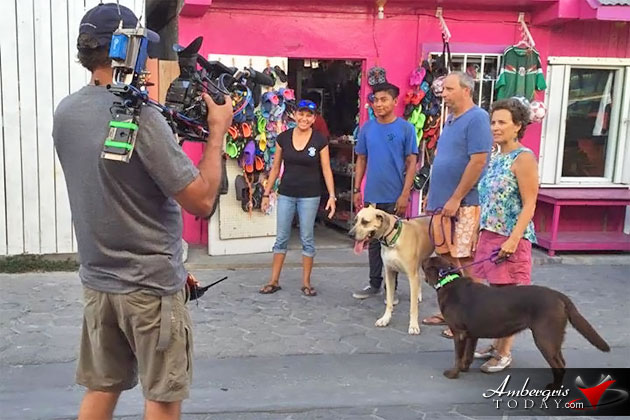 HGTV Shuts Down Section Pescador Drive for Filming in San Pedro, Ambergris Caye