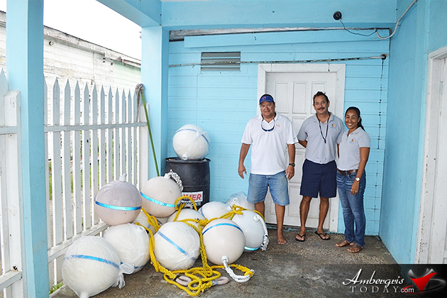 Mooring Buoys Donated for Recreational Area at Mexico Rocks