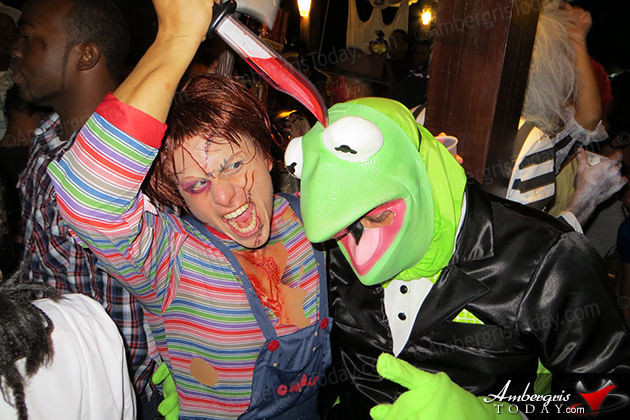 Halloween Party at Holiday Hotel, San Pedro, Ambergris Caye, Belize 2012