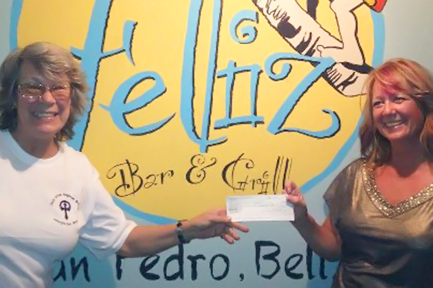 Feliz Bar & Grill Donates to Holy Cross Anglican School