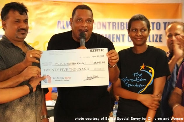 Belize Indian Merchant Association donates $25,000