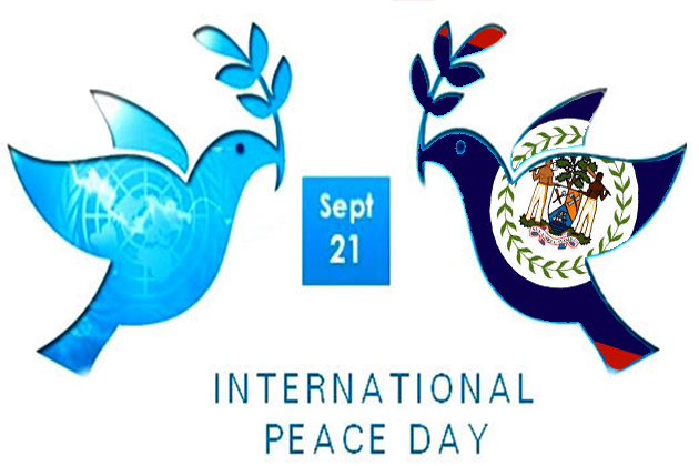 Observing International Peace Day and Belize's Independence ...