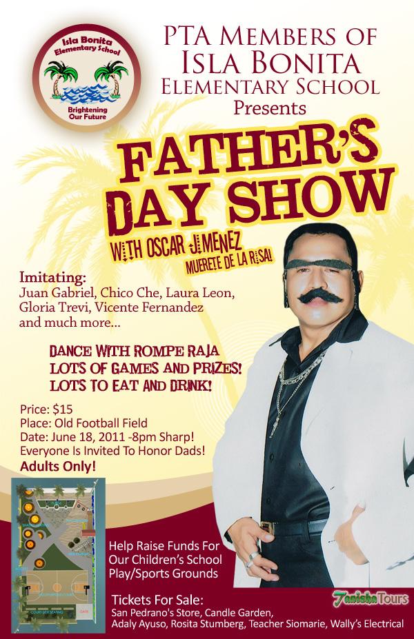 Isla Bonita Elementary Father's Day Show