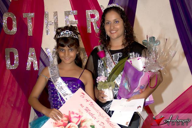 Miss Isla Bonita Grace Brown and Perlita Zapata Mother of the Year 2011