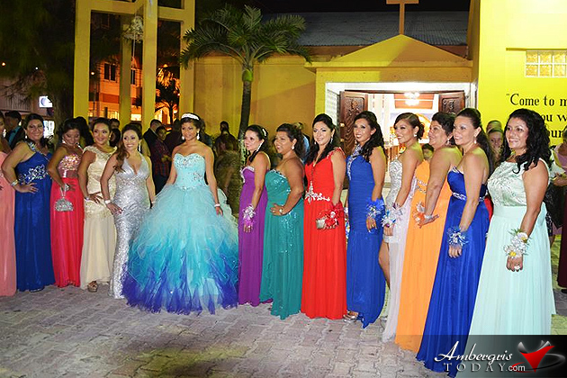 Jailene Ancona Celebrates her Colorful Quinceaños
