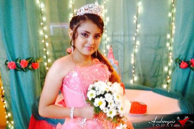 Jasmin Marin Celebrates Quinceaños